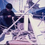 Preparing for sea anchor